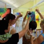 Sommerakademie Ostsee, Fotokurse, Fotoworkshops, Malreisen, Malkurse, Struktur malen, Staffelei, Kurs